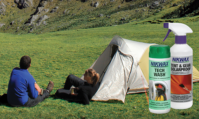 Around this time of year one of our most frequently asked questions is Should I regularly clean my tent and if so whatu0027s the best way to do it? & Welcome to the Nikwax blog » Clean waterproof and protect your ...