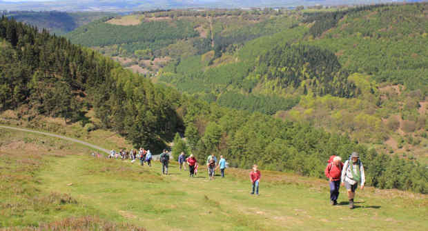 Caerphilly Challenge Walking