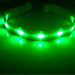 Nikwax Christmas Gift Guide 2015 | GoDoggie GLOW LED dog safety collar