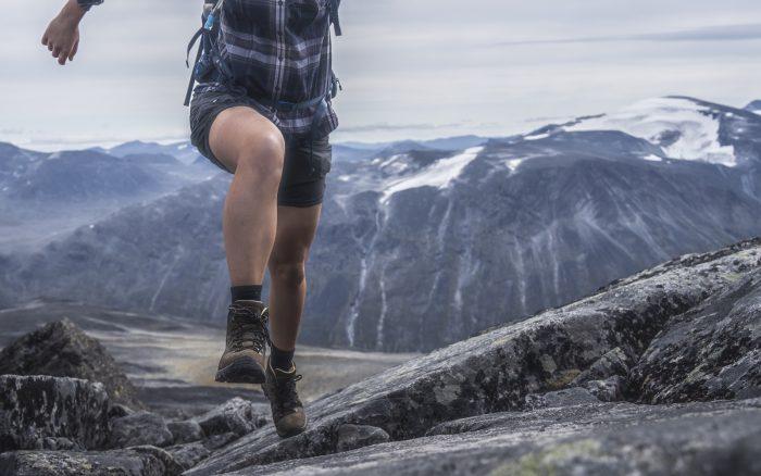 Wanderschuhe Kangri Peak Leder wasserdicht Bergwandern