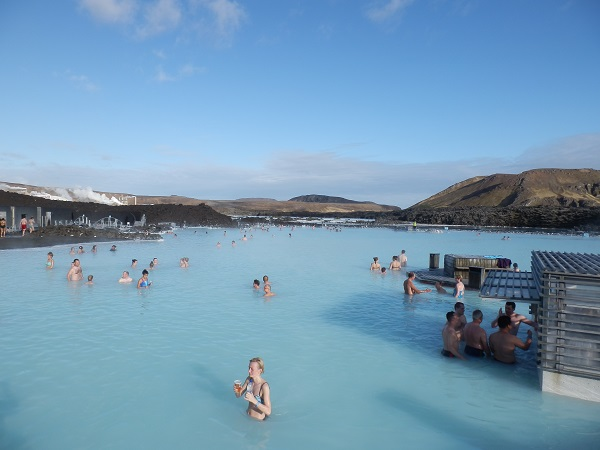 Hot springs in Iceland