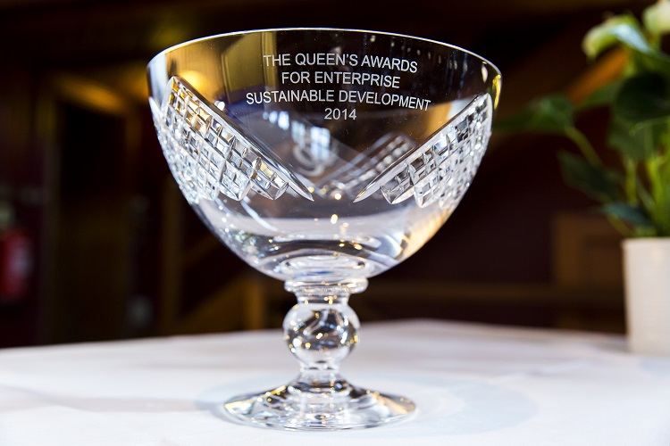 Nikwax Event - The Queen's Award for Enterprise Sustainable Deve